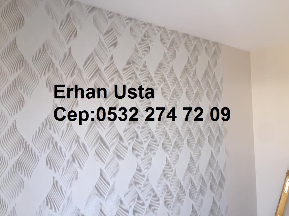 Kıraç duvar kağıdı ustası
