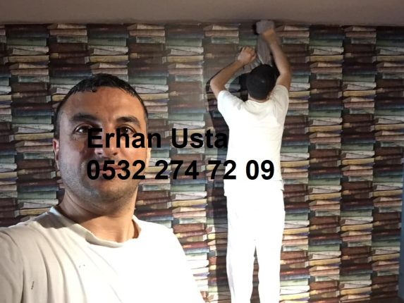 Erhan halkalı duvar kağıdı ustası